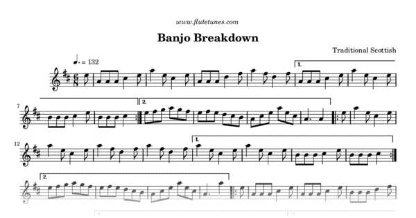 banjo breakdown  trad  scottish