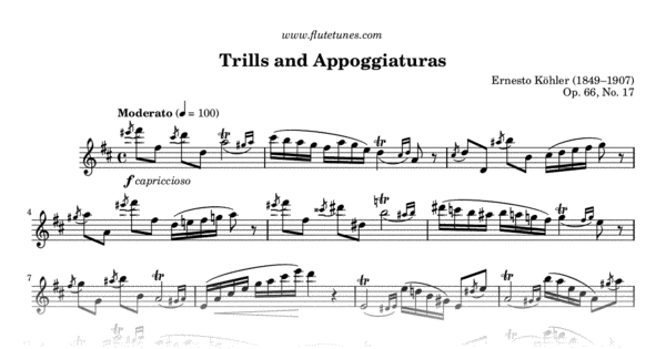 trills and appoggiaturas from 25 romantic studies  e