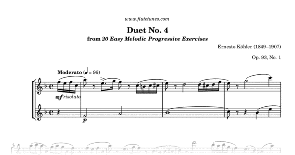 selected duets for flute volume 1 pdf