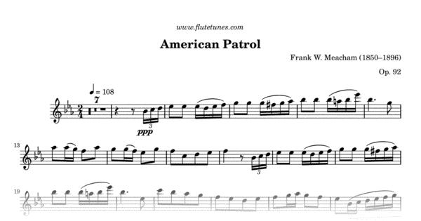 american patrol  f w  meacham