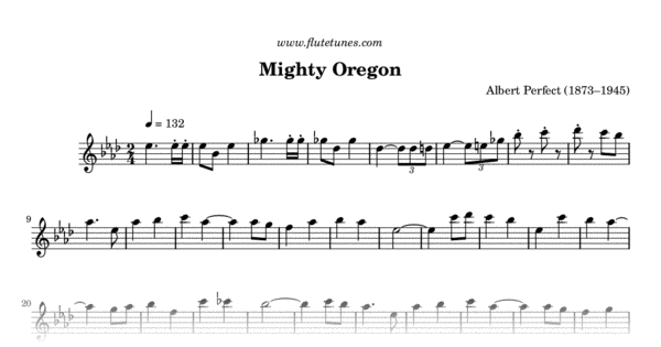 mighty oregon  a  perfect