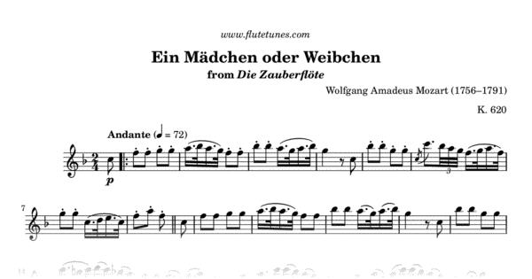 magic flute mozart pdf excerpt