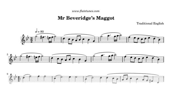 mr beveridges u0026 39 s maggot  trad  english