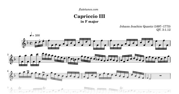 Capriccio in F Major
