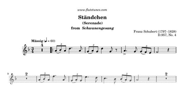 schubert serenade guitar sheet music pdf