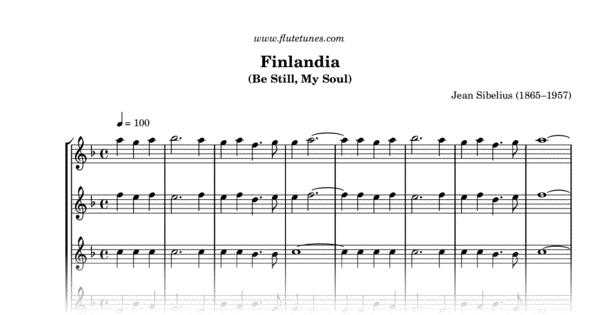 finlandia  j  sibelius