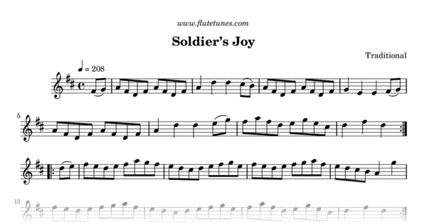 soldier u0026 39 s joy  traditional