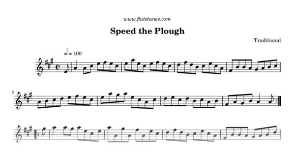 speed the plough  traditional