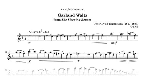 garland waltz from the sleeping beauty  p i  tchaikovsky