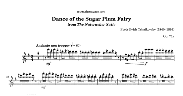 dance of the sugar plum fairy piano duet pdf