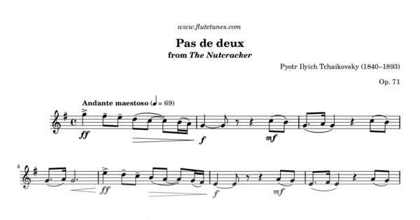 pas de deux from the nutcracker  p i  tchaikovsky