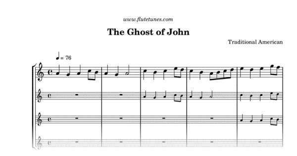 the ghost of john  trad  american