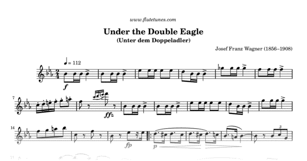 Under The Double Eagle  J F  Wagner